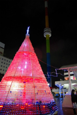 まだ間に合う!新潟のクリスマスイルミネーション@万代シティ