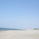 観測史上最速、新潟で今日海開き。(4月1日)