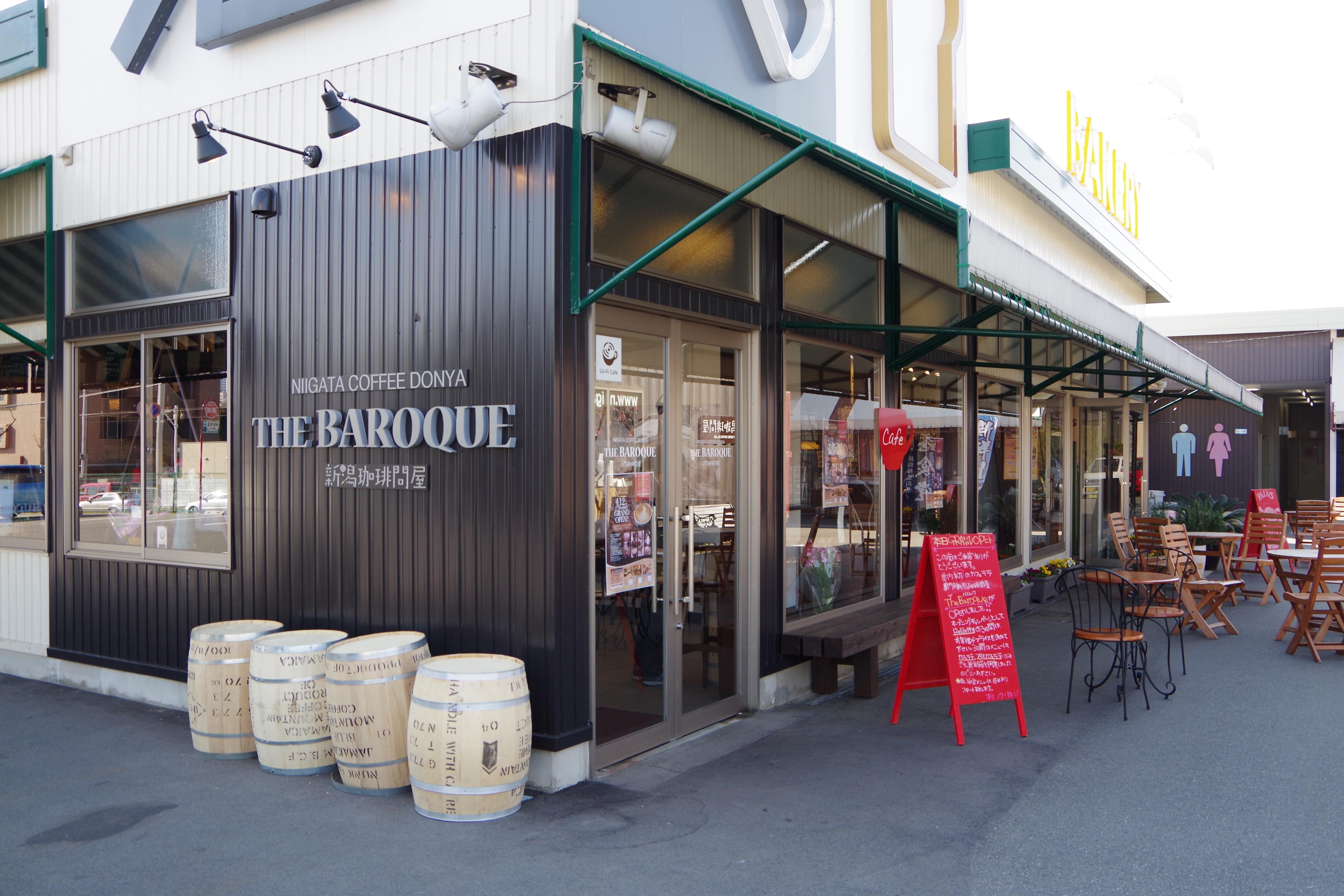 新潟初のカフェラテ専門店「THE BAROQUE」のオープニングキャンペーンに行ってきた