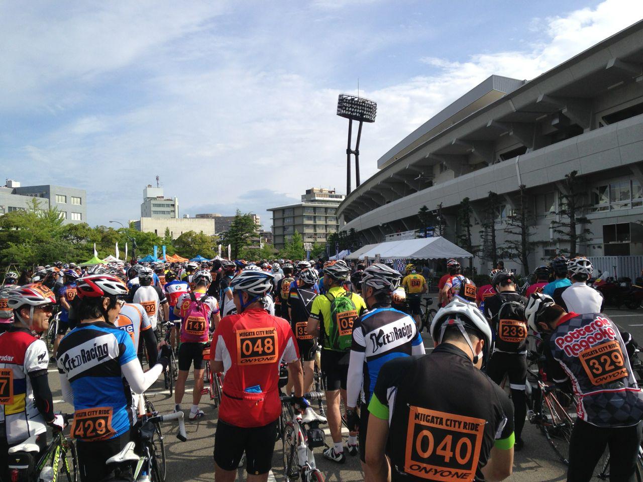 【新潟シティライド】っつー自転車イベントに参加してきたゼ!