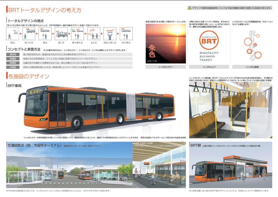 新潟市の次世代バスシステム「BRT(Bus Rapid Transit)」。トータル ...