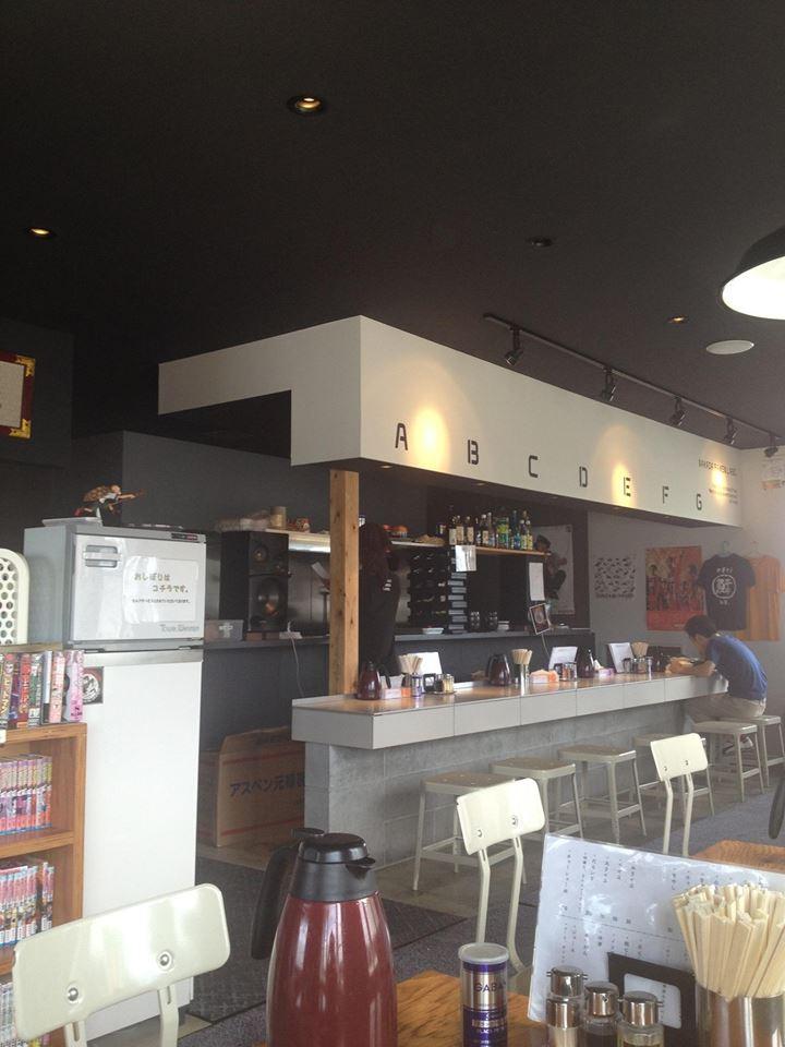 カフェのようなオシャレ空間☆五泉市のラーメン屋「中田製作所」に行ってきた