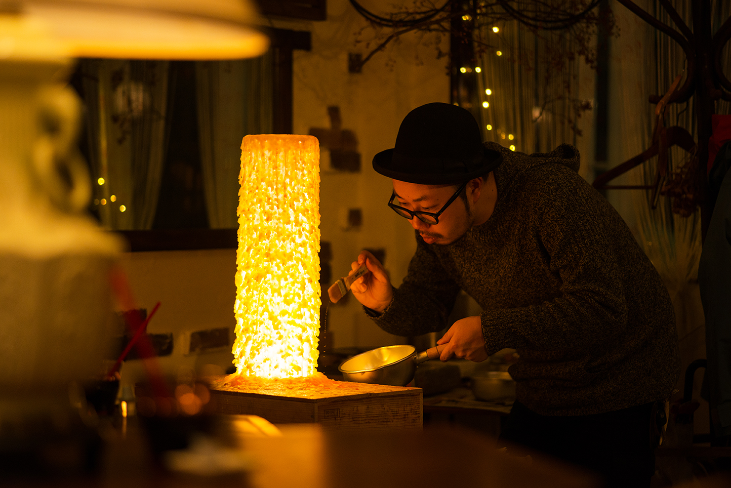 蝋燭作家 馬場 一樹 インタビュー