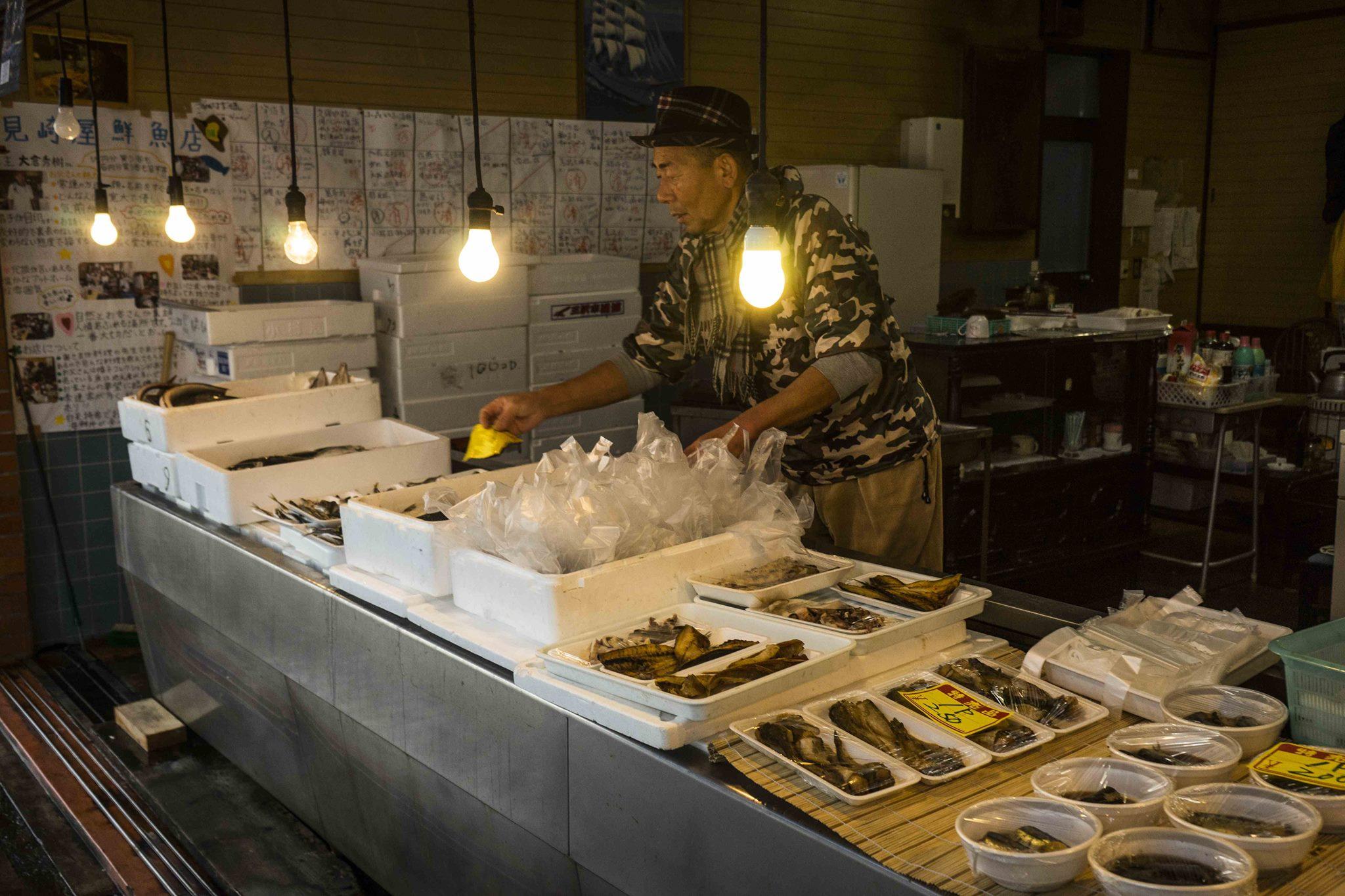 【インタビュー】フレッシュ本町の名物鮮魚店「見崎屋鮮魚店」のワイルド店長に突撃インタビューしてきた!