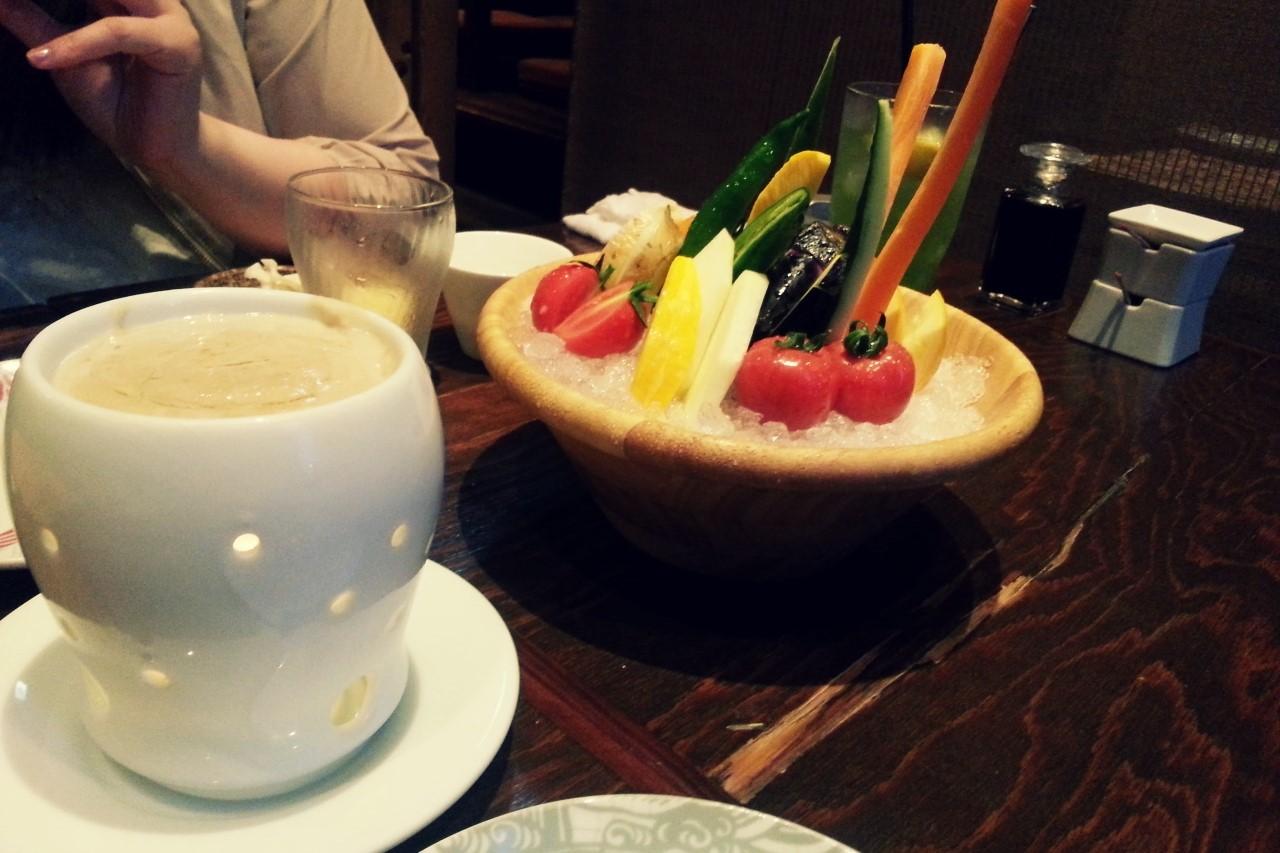 長岡野菜を楽しめる長岡市【 越後の台所 すずきち】でディナータイム