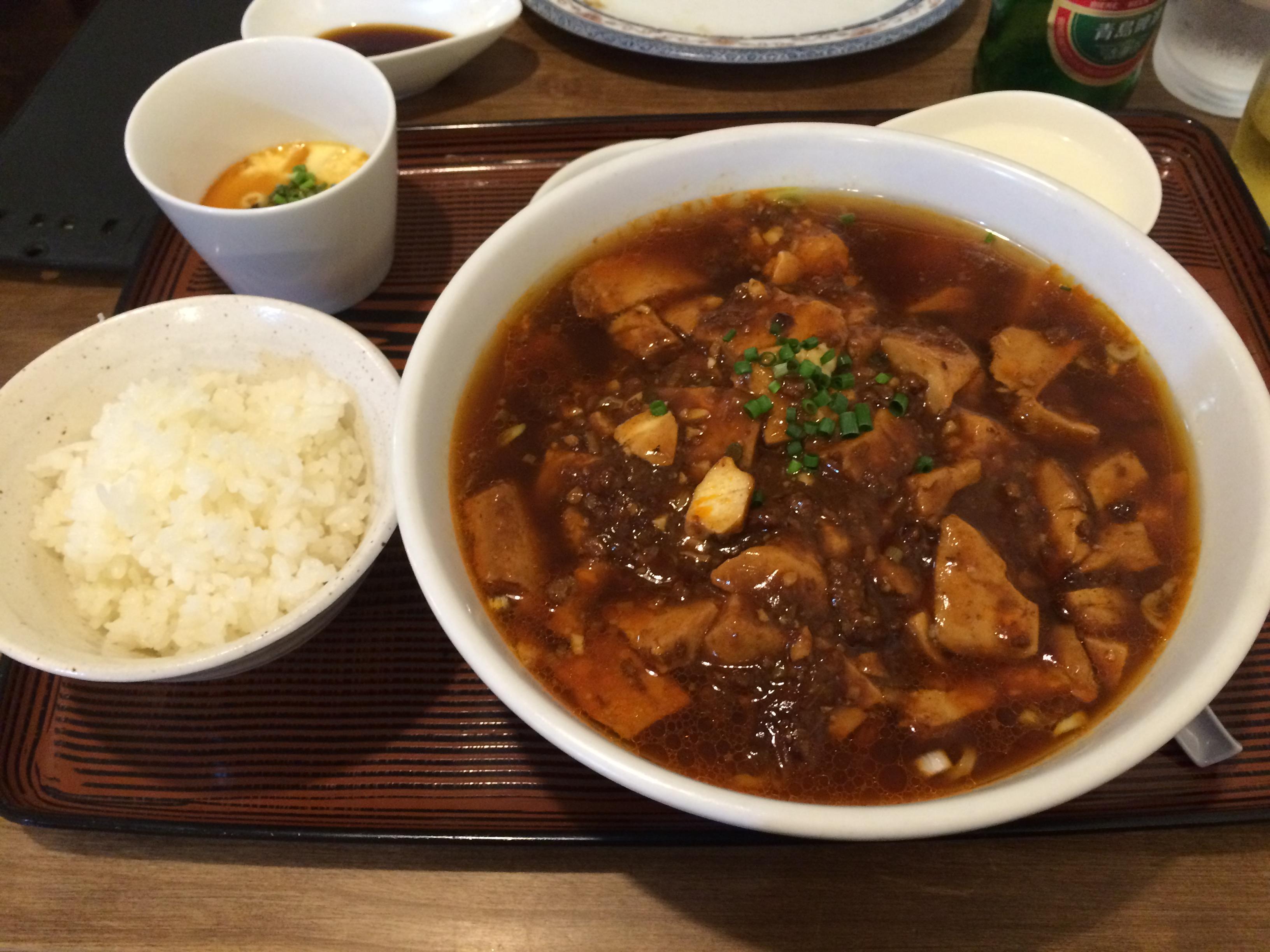 満腹でござる!!中華萬福食堂で中華定食を食べてきました