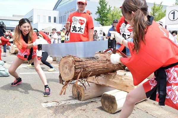 目指せ!「みしまんドリーム!」27年目を迎えた三島の誇り「全日本丸太早切選手権大会」