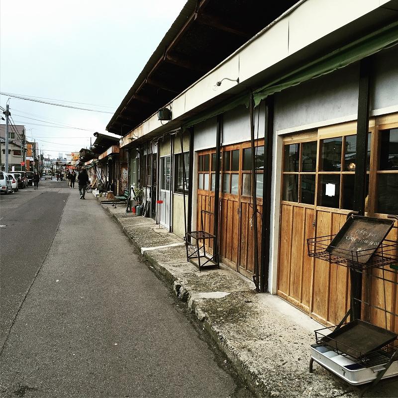 [街レポ]新潟市・沼垂テラス商店街の冬市に行ってきました