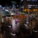 今年も始まった新潟駅南のイルミネーション!一際目を引くWhat'sNiiGATAって何?
