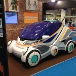 柏崎で開発中の電気自動車(EV)のデザインがSFアニメ的