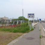 川を川が横断!?橋の上を水が流れる西川新川立体交差