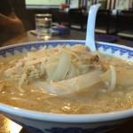 味噌ラーメンが美味い! 上信越道・道の駅あらい内「ごはん食堂ミサ」。