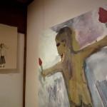 """galleryJuusya「みちみちている""""しんぞう展""""」in新潟絵屋"""