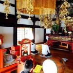 圧倒的に風光明媚!角田山妙光寺「朝のお勤め」を拝見させていただきました。