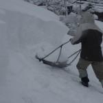 """雪深い冬の十日町市で""""雪おろし""""のお手伝いをしてきました"""