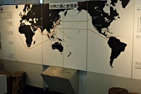 世界中と繋がる新潟港!