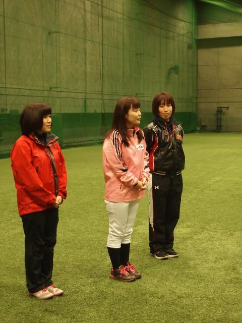 左から発起人である松井部長/和泉監督/頓所コーチ